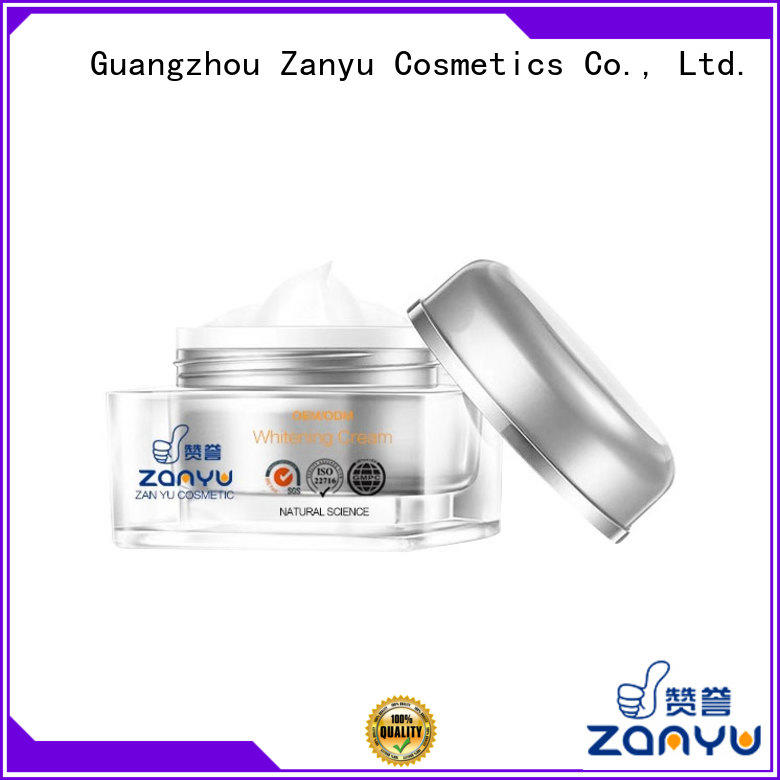 Zanyu Custom great face cream factory for woman