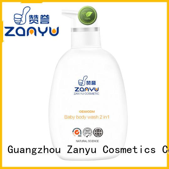 Zanyu Custom baby body wash products company for baby