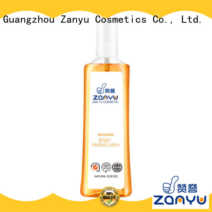 Zanyu Custom baby lotion and soap for business for babies