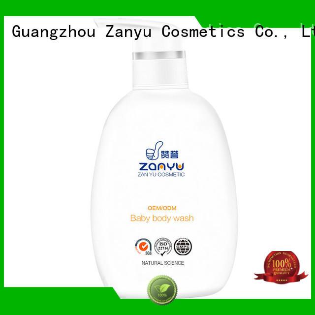 Zanyu ODM best baby eczema body wash supply for baby