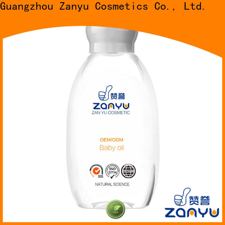 Zanyu soft baby oil after bath suppliers for baby girl