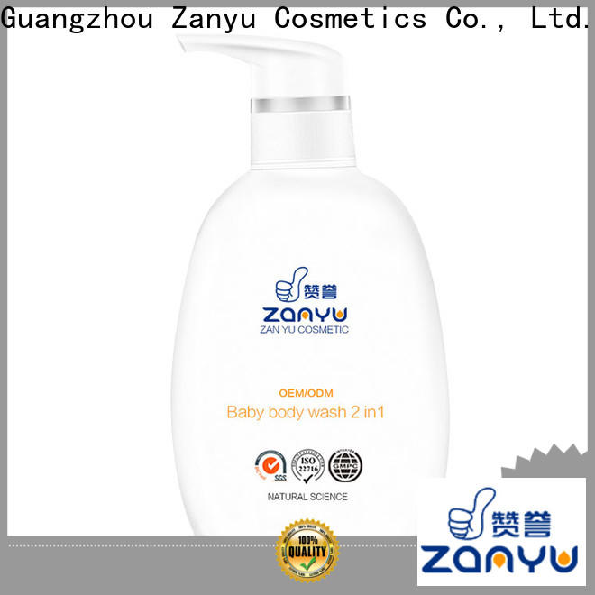 Zanyu baby all in one shampoo body wash for business for woman