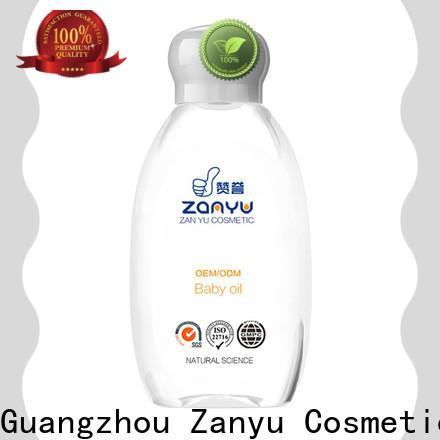 Zanyu Latest drinking baby oil company for baby